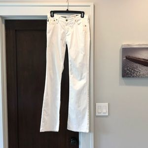 AG Adriano Goldschmied Angel Bootcut White size 27